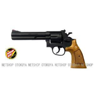 エアガン リボルバー S&W M586 357コンバットマグナム 6インチ HOPUP (No4)|dream-up