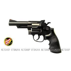 エアガン リボルバー S&W M19 357コンバット マグナム 4インチ HOPUP (No6)|dream-up