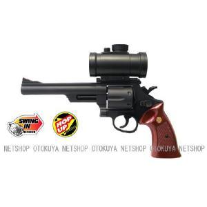 エアガン リボルバー S&W M29 44マグナム 6インチ ドットサイト付 HOPUP (No.2)|dream-up