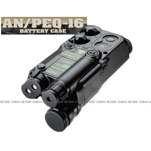 AN/PEQ-16バッテリーケースブラック【東京マルイ】【電動ガン用】|dream-up