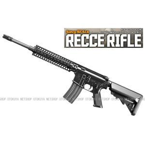 次世代電動ガン ネイビーシールズ レシーライフル RECCE RIFLE ブラック (4952839176103)|dream-up