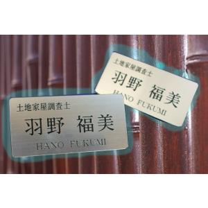 名札 取り付け簡単  衣類に穴も開きません マグネット式 名札003 送料無料|dreamaki