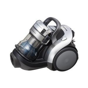 パナソニック 電気掃除機(遠心分離方式パワープレスサイクロン) シャイニーシルバー エコナビ×ナノイー(サイクロン) MC-SS320GX-S