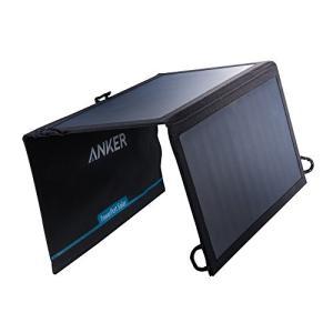 ソーラーモバイルバッテリー Anker PowerPort Solar Lite (15W 2ポート...