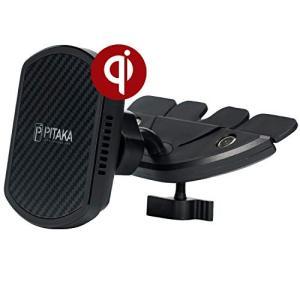 ワイヤレス充電器 Qi ワイヤレス充電器 車載スマホホルダー「PITAKA」PITAKA Magca...