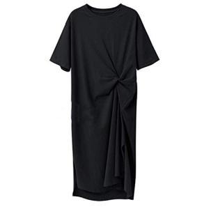 パーティードレス [エムズ モア] tシャツワンピース tシャツ ワンピース レディース 夏 なつ ...