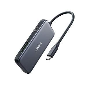 Anker 5-in-1 プレミアム USB-Cハブ【3つのUSB3.0ポート、HDMIポート、1G...