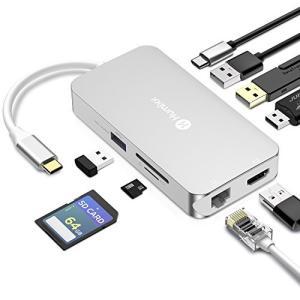 USB C ハブ Humixx USB Type C ハブ USB 3.0/4k HDMI/SD/M...
