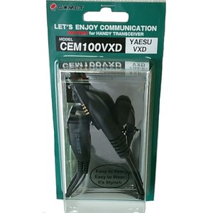イヤホンマイク CEM100VXD(スタンダード VXD10・20用)/コメット(COMET) トランシーバー 無線機|dreammobile