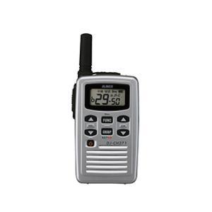 アルインコ 特定小電力トランシーバー DJ-CH271S ショートアンテナ 47ch 交互通話中継対応|dreammobile