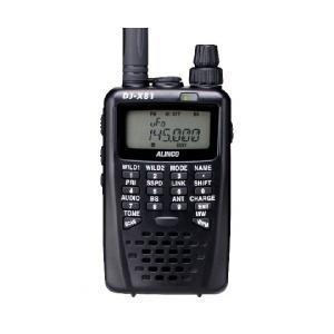 アルインコ ワイドバンドハンディレシーバー DJ-X81 エアバンドスペシャル 広帯域受信器 ワンセグ 緊急警報システム受信対応|dreammobile