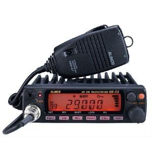 アルインコ モノバンド29MHz FM モービルトランシーバー DR-03SX|dreammobile