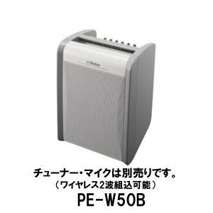 ポータブルワイヤレスアンプ PE-W50B (チューナー・ワイヤレスマイク別売)スピーカー アンプ/JVCビクター(Victor) dreammobile