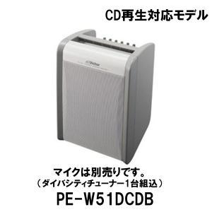 ポータブル ワイヤレスアンプ PE-W51DCDB(CDプレーヤー、ダイバーシティチューナー同梱)スピーカー アンプ/JVCビクター(Victor)|dreammobile