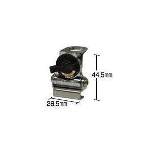 RS020S/超小型モービル用トランク・ハッチバック基台(シルバー) コメット(COMET) 無線機 アンテナ|dreammobile