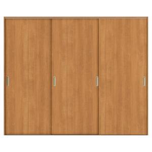 リクシル TA 室内引き戸 Vレール方式 ノンケーシング枠 引違い戸 3枚建/EAA(パネルタイプ) 2420 LIXIL トステム 室内引戸 建具 ドア 交換 リフォーム DIYの画像