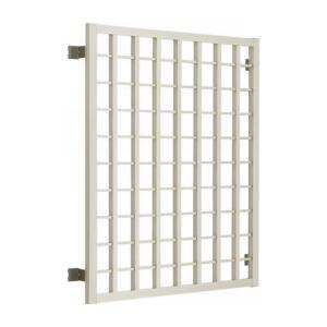 面格子 高強度面格子 グリッド格子 壁付 11413 W1235×H1430ミリ アルミサッシ