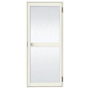 浴室ドア 枠付 レバーハンドル仕様 樹脂パネル LIXIL ロンカラー浴室用 アルミサッシ|dreamotasuke