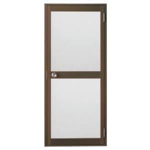 浴室ドア 枠付 握り玉仕様 樹脂パネル LIXIL ロンカラー浴室用 アルミサッシ|dreamotasuke