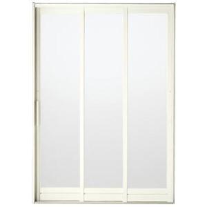 BF浴室3枚引戸(引き戸) 枠付 プレートハンドルタイプ 樹脂パネル 16-18 W1612H1818 LIXIL/リクシル アルミサッシ|dreamotasuke