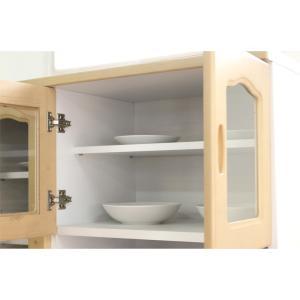 食器棚 レンジ台 キッチン収納 完成品 幅90cm カントリー おしゃれ|dreamrand|04