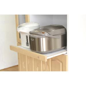 食器棚 レンジ台 キッチン収納 完成品 幅90cm カントリー おしゃれ|dreamrand|06