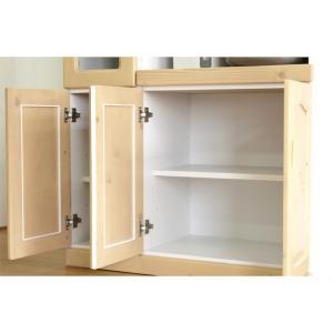 食器棚 レンジ台 キッチン収納 完成品 幅90cm カントリー おしゃれ|dreamrand|07