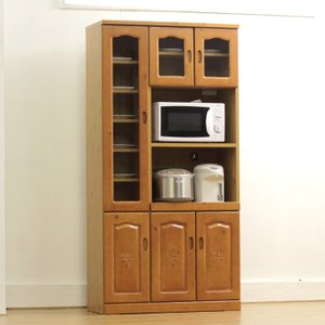 食器棚 レンジ台 キッチン収納 完成品 幅90cm カントリー おしゃれ|dreamrand|09