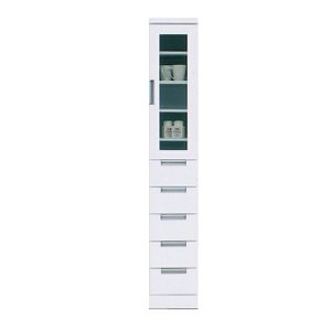 隙間収納 隙間家具 食器棚 完成品 スリム 幅30cm 送料無料|dreamrand
