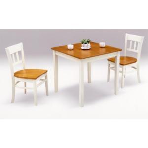 ダイニングテーブルセット 3点セット 2人掛け 木製 カントリー 送料無料 dreamrand