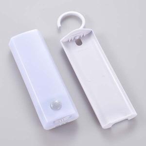 ハンガー付 LEDセンサーライト NIT-BLA6JF-WN 明暗 人感センサー付  昼白色 防水|dreamrelife-store
