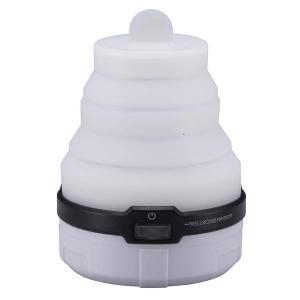 LEDソフトトップランタン(単4 3本使用 ホワイト)LN-M12K6-W 乾電池式 3段階 ポップアップ 7色に輝く|dreamrelife-store