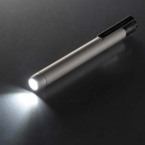 LEDペンライト(白色/単4形×2本使用/シルバー) LH-PY1L-S 衝撃に強い アルミボディ 軽量 防水|dreamrelife-store