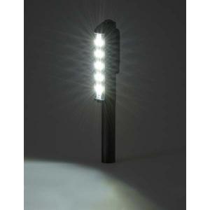 LED フルアルミ 作業 ライト (単4形×3本使用) SL-W180A6-K 広く 明るく 照らす 強力マグネット付|dreamrelife-store