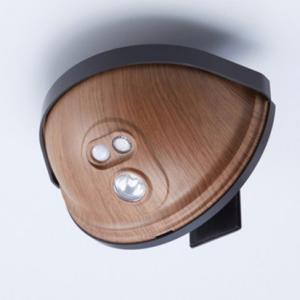 ドア用センサーライト(木目タイプ) ASL-3303MO 単3形乾電池 ドアに挟み込む取付け ON/OFF/AUTOモード切替|dreamrelife-store