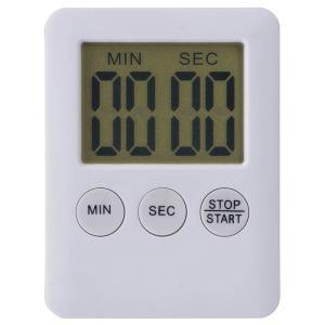 くるっとタイマー ACT-05 キッチンタイマー 99分50秒までセット 大きな文字表示  マグネット付|dreamrelife-store