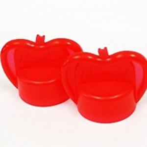 かる〜くまわるペットキャップ(りんご)レッド APC-10RD 固いキャップに被せて回すと少しの力で楽に開けられる|dreamrelife-store