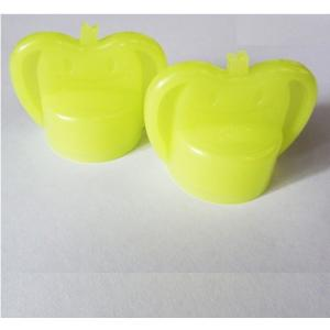 かる〜くまわるペットキャップ(りんご)ライトグリーン APC-10LG 固いキャップに被せて回すと少しの力で楽に開けられる|dreamrelife-store