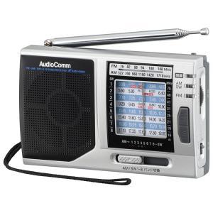 株・競馬ハンディたんぱラジオ RAD-H310N  FM+AM+SW1-8ラジオNIKKEI全6波 同調ランプ機能搭載 横置きタイプ|dreamrelife-store