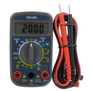 デジタルマルチテスター TDX-200 電気製品の故障チェックに!電池の寿命チェックに! 日本語表示付き  軽量 dreamrelifeshop2