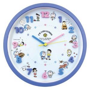 アイコンウォールクロック ドラえもん キャラクター 時計を見るのが楽しくなるような文字盤  数字は立...