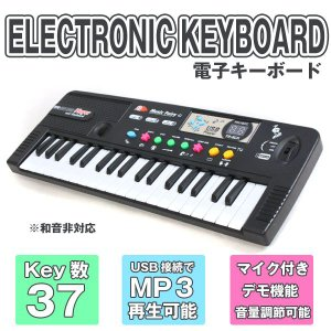 電子キーボード・MP3再生可能 ・デモ機能・ マイク付キーボード dreamstore-y