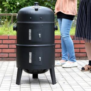 バーベキューグリル 1台3役 屋外用バーベキューコンロ BB...