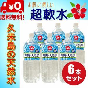 送料無料 ミネラルウォーター 久米島(沖縄・阿嘉高原)の天然水 超軟水 2L 6本 健康 赤ちゃん ミルク 健康|dreamtoys-store