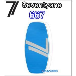71 Seventyone セブンティワン 667 ランドスキム FLATSKIM フラットスキム スキムボード 正規品|dreamy1117