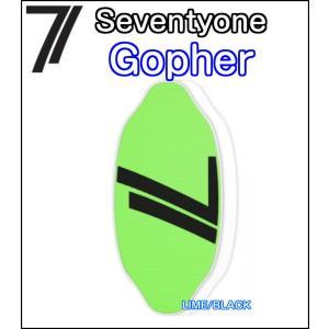 71 Seventyone セブンティワン Gopher ゴファープロモデル FLATSKIM フラットスキム スキムボード 正規品|dreamy1117