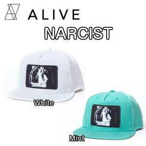 ALIVE アライブ NARCIST ナルシスト CAP 帽子 キャップ ハット|dreamy1117