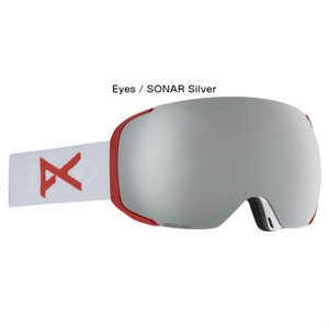 anon アノン M2 Goggle Asian Fit With Bonus Lens 18556102172 眼鏡対応 メンズ スノー ゴーグル アジアンフィット Magna-Tech  MFI ZEISS SONARレンズ 正規品 dreamy1117 03