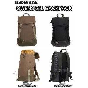 ARMADA アルマダ OWENS 25L BACKPACK Military black 0847165073681 0847165073674 iPad 15インチ ラップトップスリーブ バックパック 正規品 dreamy1117