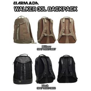 ARMADA アルマダ WALKER 30L BACKPACK Military black 0847165073667 0847165073650 iPad 15インチ ラップトップスリーブ バックパック 正規品|dreamy1117